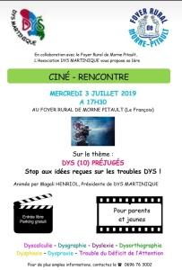 Ciné-rencontre_Flyer