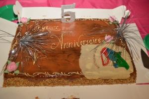 Gâteau des 5 ans