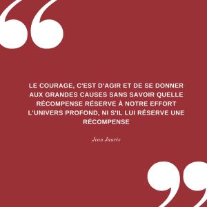 Citation Jean Jaurès