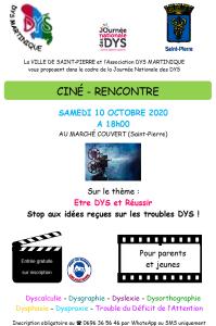 Ciné-rencontre à Saint-Pierre le 10 octobre 2020